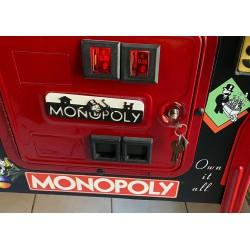 Plaque de porte Monopoly