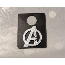 plaque lance bille Avengers