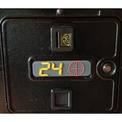 plaque de porte magnétique 24H