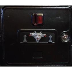 plaque de porte magnétique...