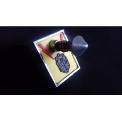 plaque lance bille Black night