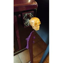 barre lance bille crâne