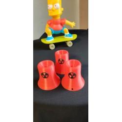 Cheminées nucléaire Simpsons